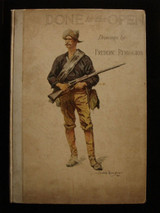 DONE IN THE OPEN: Drawings, by FREDERIC REMINGTON - 1902 [SIGNED]