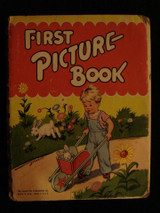 First Picture Book Hampton Publishing Co Children Kid Illustrated Learning 1945