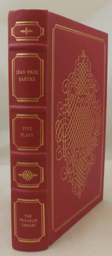 FIVE PLAYS, by Jean-Paul Sartre - 1978 [Signed Franklin Ltd Ed]