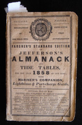 Fargher's Standard Edition of Jefferson's Almanack English Sailor Fishermen 1858