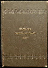 GENESIS, PRINTED IN COLORS, ref. by Edwin Cone Bissell - 1892