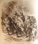 HARPER'S NEW MONTHLY MAGAZINE, Vol.22 Dec-Jun 1861 (Pontiac Spiders Shamrock)