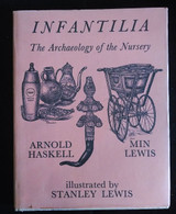 INFANTILIA - THE ARCHAEOLOGY OF THE NURSERY, Stanley Lewis - 1971 [SIGNED]