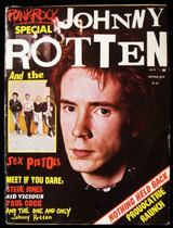 JOHNNY ROTTEN AND THE SEX PISTOLS 1977 Sid Vicious Steve Jones Paul Cook Punk Ro