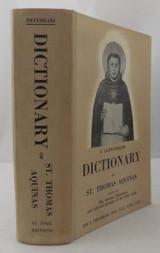 LATIN-ENGLISH DICTIONARY OF St. THOMAS AQUINAS, by Roy J. Deferrari - 1960