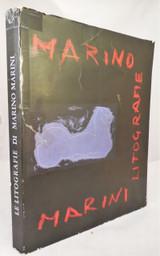 LITOGRAFIE DI MARINO MARINI 1966 [1st Ed 1/100] original signed lithos 1942-65