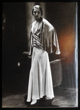 MADELEINE VIONNET Betty Kirke 1998 [Signed] Fashion haute couture Dress Design