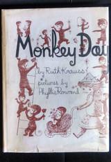 MONKEY DAY, by Ruth Krauss; Phyllis Rowand - 1957