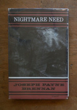 NIGHTMARE NEED, by Joseph Payne Brennan - 1964