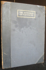 THE ANTICHRIST OF NIETZSCHE, by Norman Lindsay (tr); Norman Lindsay (illus) [Ltd Ed]