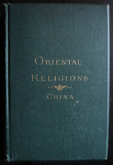 ORIENTAL RELIGIONS: CHINA 1877 Samuel Johnson Chinese History Culture Confucius