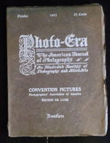 PHOTO-ERA October 1903 Edition Deluxe Child Life Number Photograph Illustrated