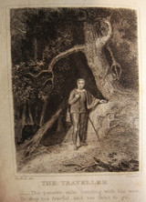 POEMS, by Oliver Goldsmith; THE MINSTREL, THE PROGRESS OF GENIUS, by James Beattie - 1820