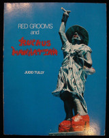 RED GROOMS AND RUCKUS MANHATTAN, by Judd Tully 1977 Art Sculpture SIGNED Pop Art