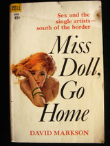 MISS DOLL GO HOME, by David Markson - 1965 [1st Ed]