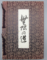 MUGEN-NO-MICHI / NOH MASKS by YUISEI & YUISHU MORI - 1984