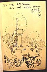 BALKAN SKETCHES: An Artist's Wanderings in the Kingdom of the Serbs, by Lester G. Hornby - 1927 [Signed]