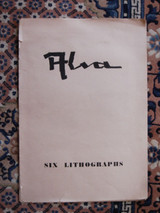 SIX LITHOGRAPHS BY ALVA 1949 [Signed Limited Edition 69 of 125] Modern German
