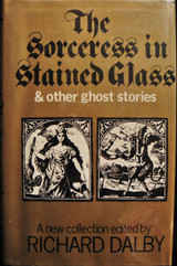 SORCERESS IN STAINED GLASS Dalby Burrage Ghosts Horror 1971 SCARCE DJ Ex Libris