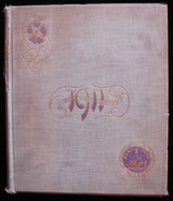 THE 1911 VIOLET VOLUME XXI, by Walter Atkinson 1911 NYU Yearbook New York City