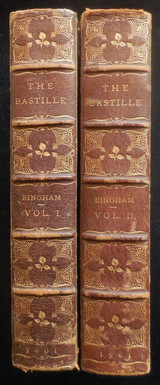 THE BASTILLE, by D. Bingham - 1901 [Vol 1 & 2]