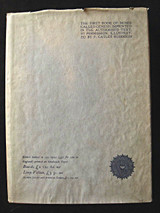 THE BOOK OF GENESIS, by Medici Society - 1864 [Ltd Ed]