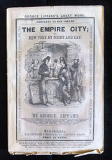 THE EMPIRE CITY 1864 Lippard New York Original Wraps