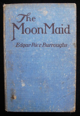 THE MOON MAID, by Edgar Rice Burroughs 1926 First Edition Science Fiction Scarce