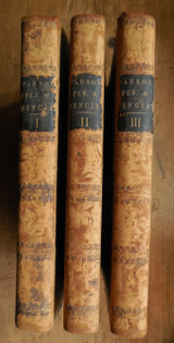 THE PARSON, PEN, AND PENCIL, by G.M. Musgrave - 1848 [3 Vols, 1st Ed]