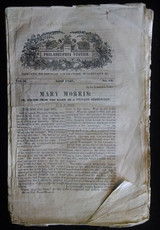 THE PHILADELPHIA VISITER VOL II NO'S 18-24 1837 Literature Fiction Periodical