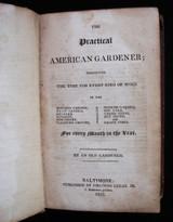 PRACTICAL AMERICAN GARDENER - 1819