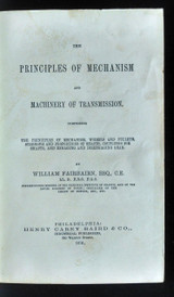 THE PRINCIPLES OF MECHANISM AND MACHINERY OF TRANSMISSION 1876 wheels gears