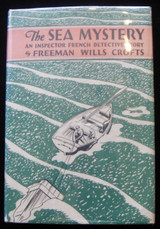THE SEA MYSTERY, by Freeman Wills Crofts 1928 Detective Mystery Fiction Scarce