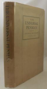 THE UNIVERSAL PENMAN, by George Bickham - 1941 [Facsimile Ed]