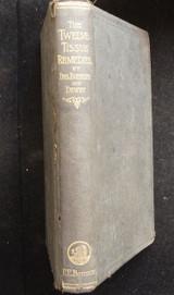 THE TWELVE TISSUE REMEDIES OF SCHUSSLER, by William Boericke - 1888 [1st Ed]