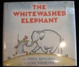 THE WHITEWASHED ELEPHANT, by John Gincano 1936 [signed]