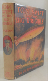 TOM SWIFT AND HIS BIG DIRIGIBLE, Victory Appleton - 1930 DJ Aircraft Mystery