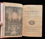 TRAITE DES FEUX D'ARTIFICE POUR LE SPECTACLE, by Amedee Francois Frezier - 1747