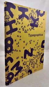 TYPOGRAPHICA, Spencer 1960 journal #1 UK Royal Arms ads Kafka illustrations
