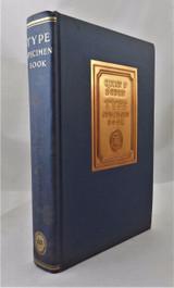 TYPE SPECIMEN BOOK, Quinn & Boden - c.1927