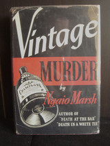 VINTAGE MURDER, by Ngaio Marsh - 1940