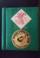 Vintage ROLLER RINK SCRAPBOOK [95 Unique Decals]