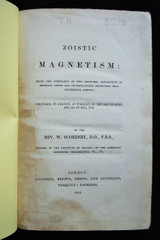 ZOISTIC MAGNETISM, by William Scoresby - 1849 [1st Ed]