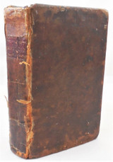 YOUNG GENTLEMAN & LADY'S MONITOR, J. Hamilton Moore 1792 reader leatherbound