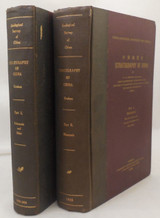 STRATIGRAPHY OF CHINA, by A.W. Grabau - 1928 [2 vols, Signed]