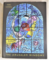 THE JERUSALEM WINDOWS, by Marc Chagall - 1962 [1st Ed]