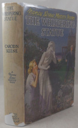 NANCY DREW: THE WHISPERING STATUE, by Carolyn Keene - 1937 [1st Ed]