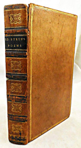 NINE WORKS BY LORD BYRON - 1815-19 [fine binding]
