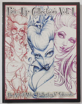PIN-UP COLLECTION Vol 1: THE ART OF MIKE Feathertouch SYKOWSKI