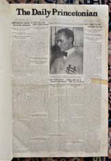 THE DAILY PRINCETONIAN, Sept 1915-Jun 1916